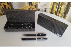 ZESTAW: długopis + pióro z logo