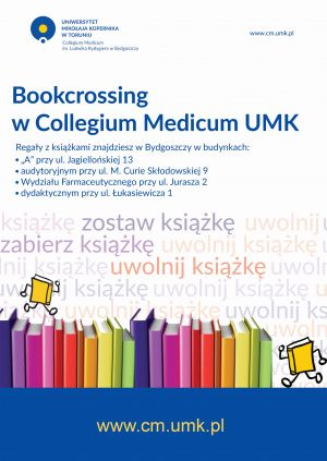 Bookcrossing w Collegium Medicum