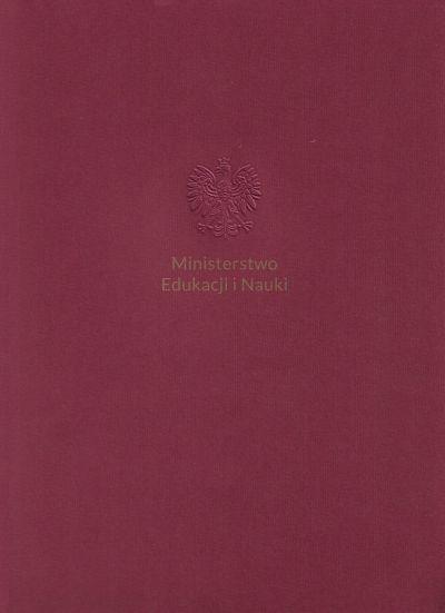 Dyplom Ministra EiN 2021 okładka