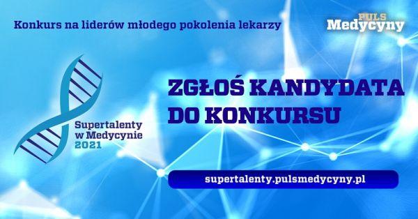 Baner konkursu Supertalenty w medycynie